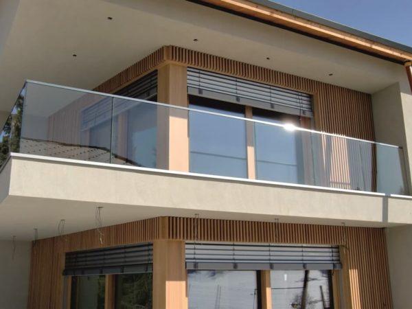 Ограждения на балконы и террасы