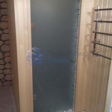 Душевая дверь матовая