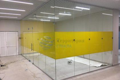 Стеклянные перегородки для офиса, стеклянные перегородки для офисов в Самаре