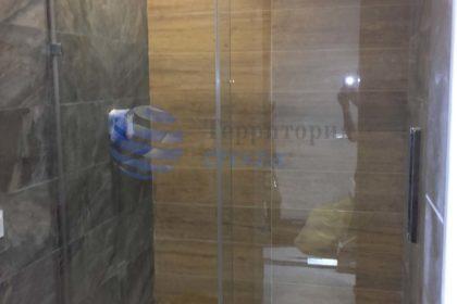 Стеклянные перегородки для душевой в Самаре, перегородки из стекла в ванную в Самаре